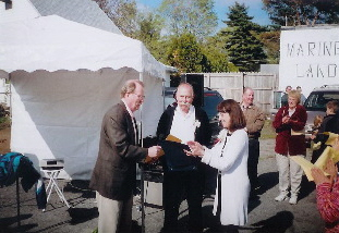Jim Ward, Tom Kelley, Rosemary Sanone