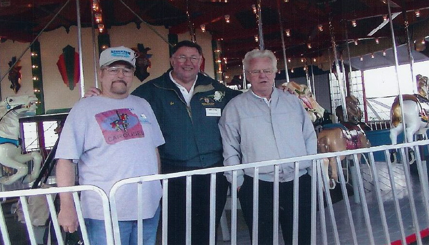 Original Carousel Operators on 2003 Grand Opening Day