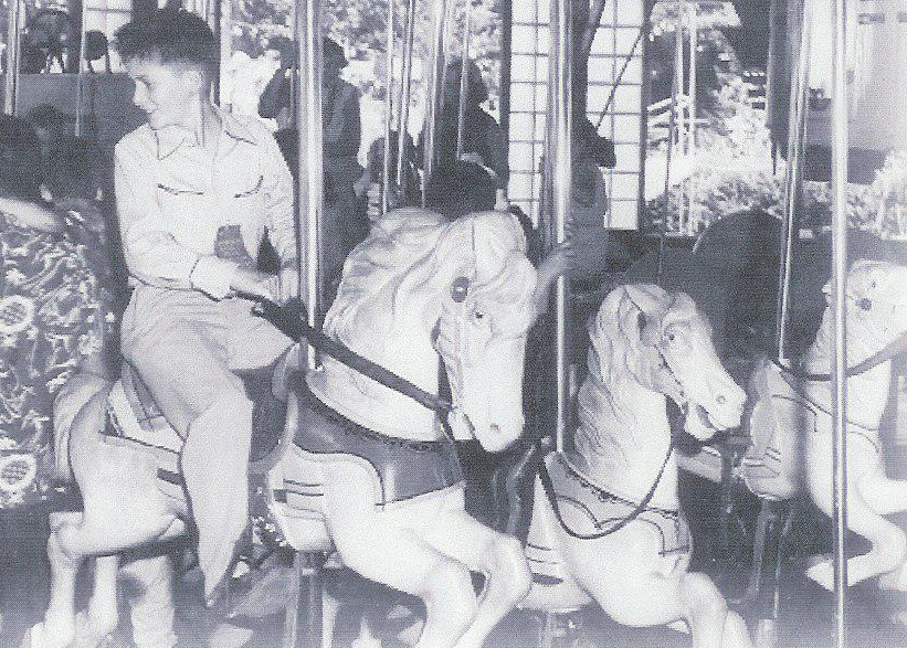 Original Carousel in 1949